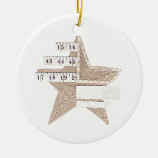 Starry Star Ornament