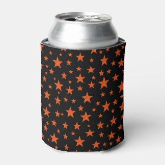 Starry Starry Night Orange Can Cooler