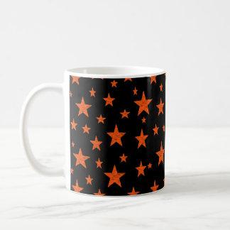 Starry Starry Night Orange Coffee Mug