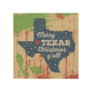 Starry Texas Art - Merry Texas Christmas
