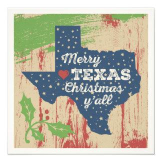 Starry Texas Card - Merry Texas Christmas