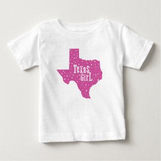 Starry Texas Girl Kids T-Shirt - Pink
