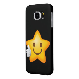 Starry Thumbs Up Emoji Samsung Galaxy S6 Cases