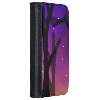 Starry Tree Wallet Phone Case
