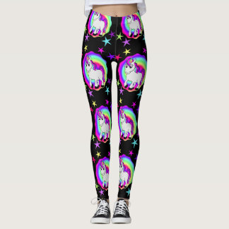 Starry Unicorn Magical Leggings