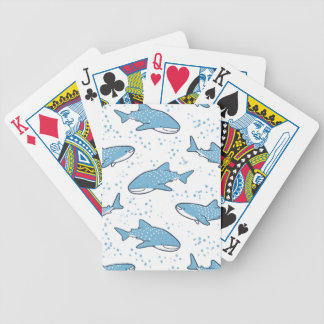 Starry Whale Shark (Light) Bicycle Playing Cards