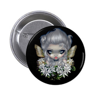 """Starry Wild Jasmine Fairy"" Button"