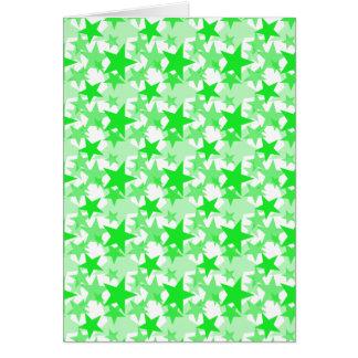 Stars 3 Green Card