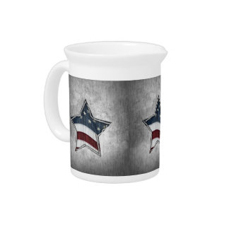 Stars and Bars Pitcher