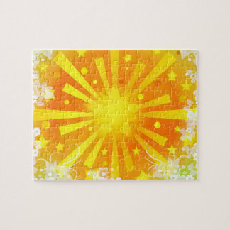 Stars and Flowers Jigsaw Puzzle