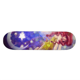 Stars and Moon Fairy Skate Board