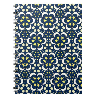 Stars and moon tessellation notebooks