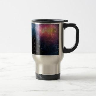 Stars and Nebulas Stainless Steel Travel Mug