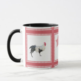 Stars And Roosters Country Decor Mug