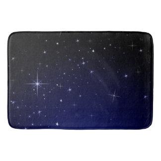 STARS AND SPACE BATH MATS