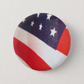 Stars and Stripes 6 Cm Round Badge