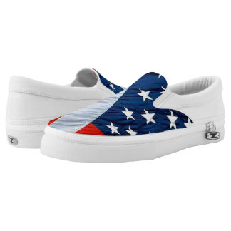 Stars and Stripes American Flag Canvas Shoe Printed Shoes