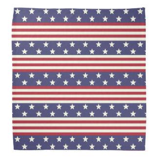 Stars and Stripes American Flag USA Patriotic Kerchiefs