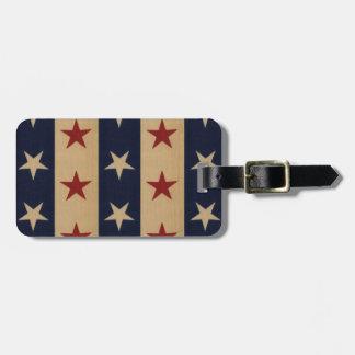 Stars and Stripes Americana Bag Tags