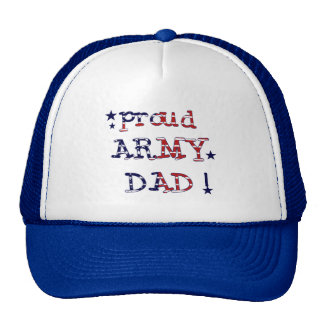 Stars and Stripes Army Dad Tshirts and Gifts Hats