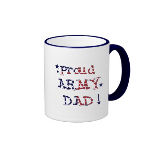 Stars and Stripes Army Dad Tshirts and Gifts Coffee Mug