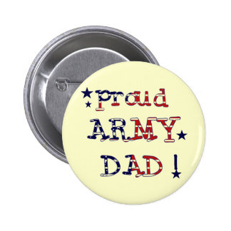 Stars and Stripes Army Dad Tshirts and Gifts Pins