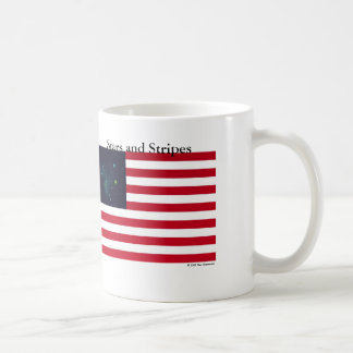 Stars and Stripes Basic White Mug