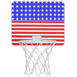 """Stars and Stripes"" Basketball Hoop"