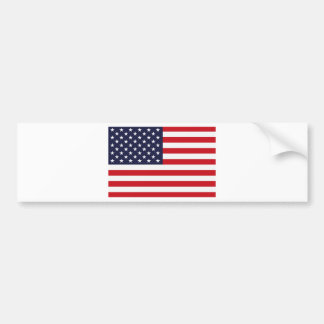 Stars and Stripes Bumper Sticker