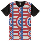 Stars and Stripes Bunting All-Over Print T-Shirt