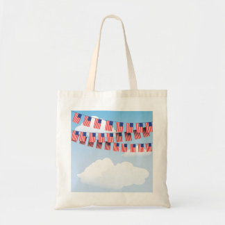 Stars And Stripes Bunting Tote Bag