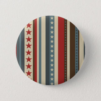 Stars and Stripes Button