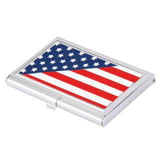 Stars and Stripes Case For Business Cards