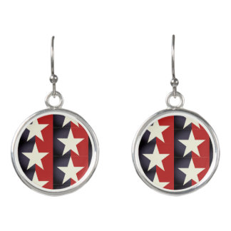 Stars and Stripes Earrings