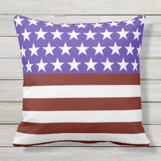 Stars and Stripes Forever Fun Outdoor Cushion