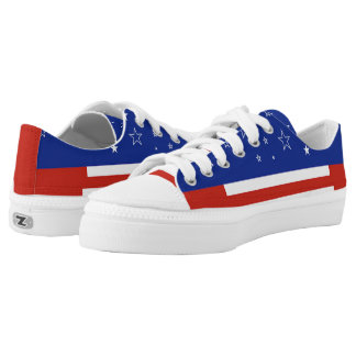 Stars and Stripes Forever Printed Shoes