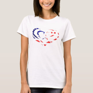Stars and Stripes/Heart T-Shirt