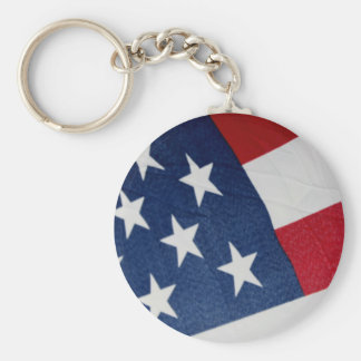 Stars and Stripes Key Chain