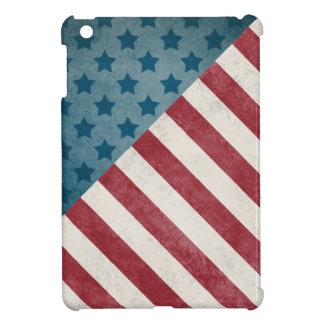 Stars and Stripes (Light Distress) Cover For The iPad Mini