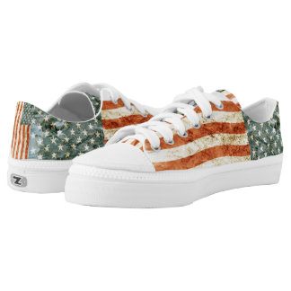 Stars and Stripes... Low Tops