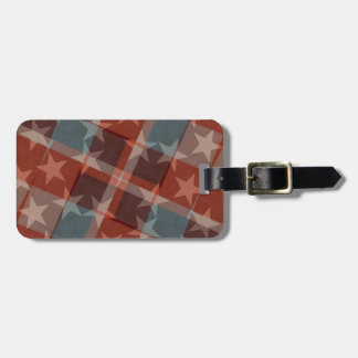 Stars and Stripes Luggage Tag