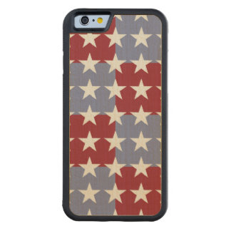 Stars and Stripes Maple iPhone 6 Bumper