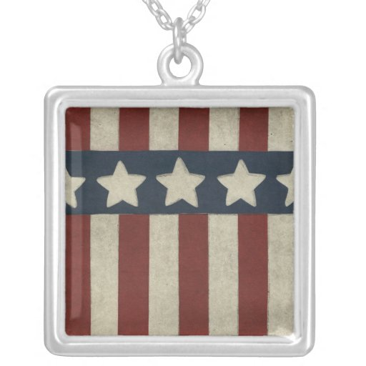 Stars and Stripes Custom Necklace