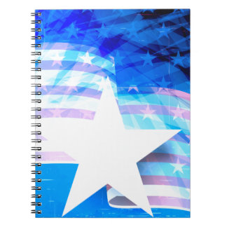 Stars and Stripes Notebook
