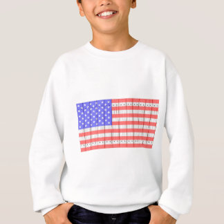 Stars And Stripes On A Fence Sweatshirt