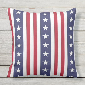 Stars and Stripes Outdoor Cushion