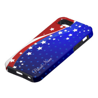 Stars And Stripes Patriotic -USA Independence Day Case For The iPhone 5
