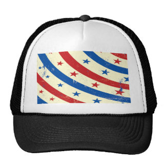 Stars and Stripes Red, White and Blue Hats
