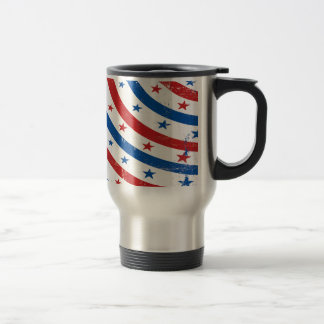 Stars and Stripes Red, White and Blue Coffee Mug