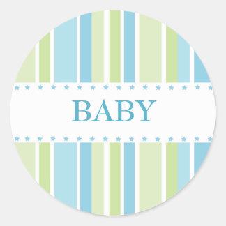 Stars and Stripes Sticker (blue-green)